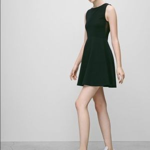 Aritzia talula black skater dress sz XS